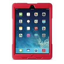 Kensington BlackBelt 1st Degree Rugged Case for iPad Air, Red (K97075WW)