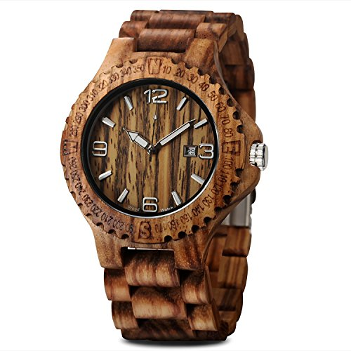 wooden watch display - 6