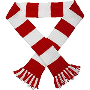 Premier League Striped Football Scarf Kit - Knitting ...