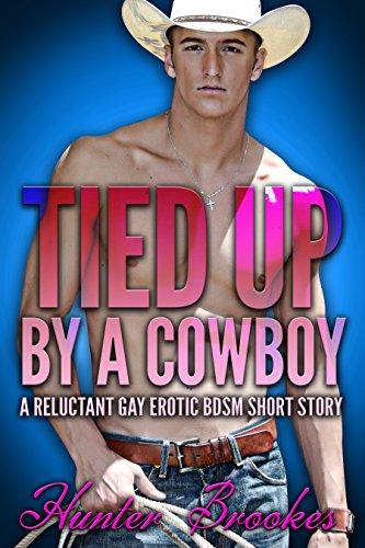 Gay tied-up cowboy