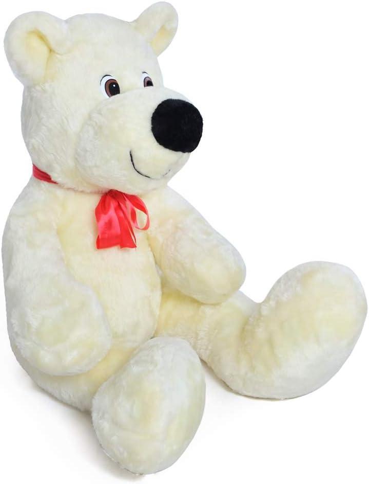 Teddy Bear 110cm Jouet cadeaux enfant Grand nounours câlin en peluche