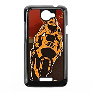 Printed Quotes Phone Case Rossi For HTC One X Q5A2112193