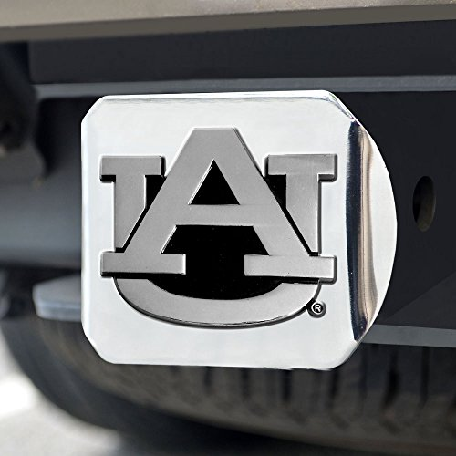 FANMATS NCAA Auburn University Tigers Chrome Hitch Cover Mod