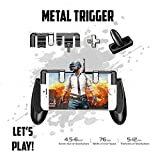 PUBG Fortnite Mobile Game Controller - | New Version | Sensitive Shoot and Aim Trigger Fire Buttons | L1R1 Joysticks Game Controller for PUBG/Fortnite of Survival Gaming Triggers for iOS and Android
