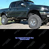 99 f150 fender flares - Rugged Style ABS Black Fender Flares | 4pcs | For 1997-2003 Ford F-150; 2004-2005 F-150 Heritage only