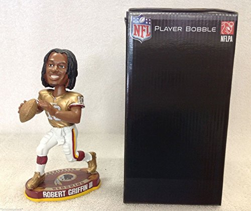 Robert Griffin III Redskins Football Legends of the Field (Gold) Bobblehead by Bobbleheads