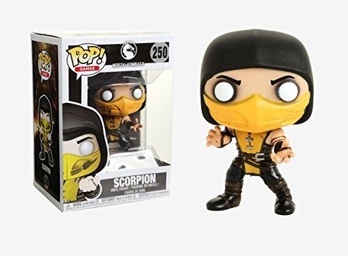 Funko Pop Games: Mortal Kombat-Scorpion Collectible Vinyl Figure]()
