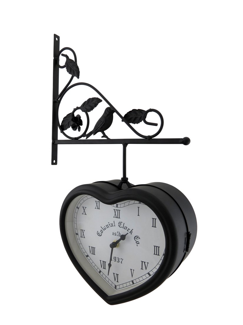Amazon Things2die4 Metal Wall Clocks 51720 Double Sided Hanging