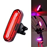 120 Lumens 6 Modes COB LED Bicycle Tail Lights Warning Lights USB Rechargeable Taillight LED Lamp