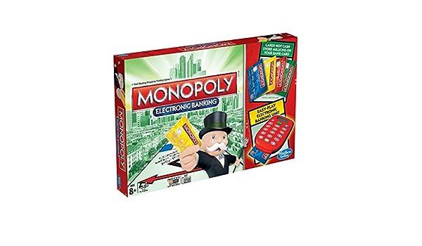 Monopoly Banca Electrónica Juego de mesa 8+: Amazon.es: Juguetes y juegos