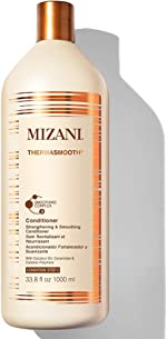 MIZANI Thermasmooth Anti-Frizz Conditioner | Conditions & Smooths Textured Hair |