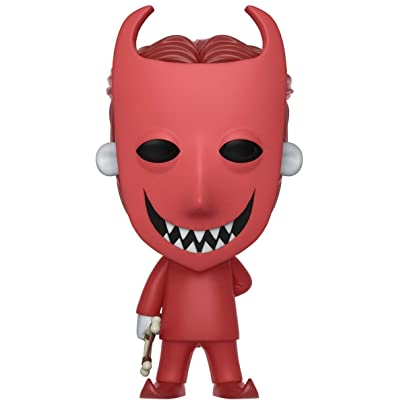 Funko POP! Disney: Nightmare Before Christmas Lock Collectible Figure, Multicolor: Funko Pop! Disney:: Toys & Games
