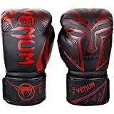 Venum Gladiator 3.0 Boxing Gloves - Black/Red - 16 Oz