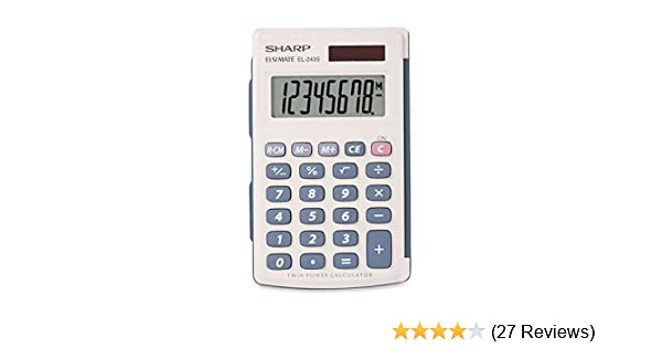 Vintage Life Long Handheld Calculator with Auto Shutoff Free Shipping