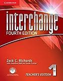 Interchange 4th  1 Teacher's Edition with Assessment Audio CD/CD-ROM (Interchange Fourth Edition)
