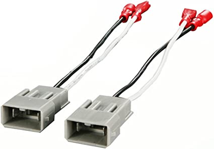 2x Speaker Connector Harness Wires for SP-7800 72-7800 1982-up Honda 12-16 Civic