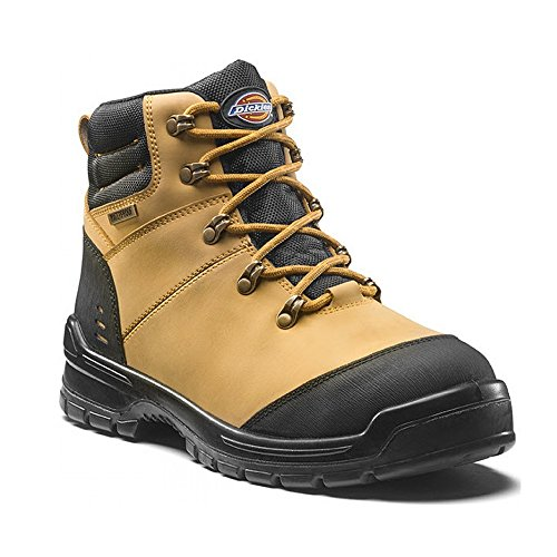 Black Waterproof Non Safety Boots Cameron Brown Metallic Dickies Work FC9535 nOaT8nSqx