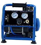 Eagle EA-2000 Silent Series 2000 Air Compressor 125 psi MAX psi Hot Dog with panel, Blue, 1 gallon