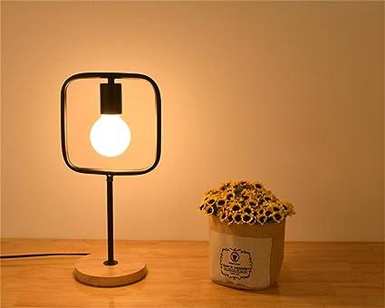 Perfekt TRRE  Moderne Minimalist Schreibtisch Bügeleisen Tischlampe Schlafzimmer  Schlafzimmer Arbeitszimmer Lampe (Farbe : Schwarz)