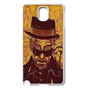 DIY Breaking Bad Phone Case, DIY Hard Back Shell Case for samsung galaxy note 3 n9000 with Breaking Bad (Pattern-7)