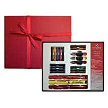 Sheaffer Calligraphy Gift Set, 3 Quill Pens, 3 Nib Grades, 14 Ink Cartridges, Step-By-Step Instructions, Beautiful Gift Box