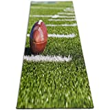EJudge Yoga Mat New Adult Flag Football Custom Personalized 1/4-Inch Thick Sports Mats for Pilates, Fitness & Workout