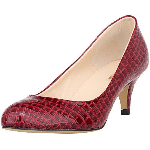 de EU Femme 36 1EYW Rouge Renly Red Salon Danse 5 Ni332 BwtSq6v