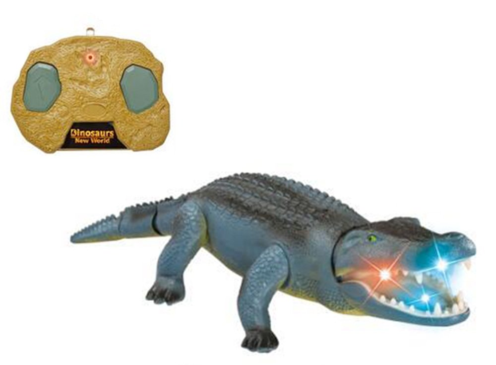 Liberty Imports Remote Control Crocodile Toy RC Walking Alligator with Lights and Sound Effects by Liberty Imports (Image #1)