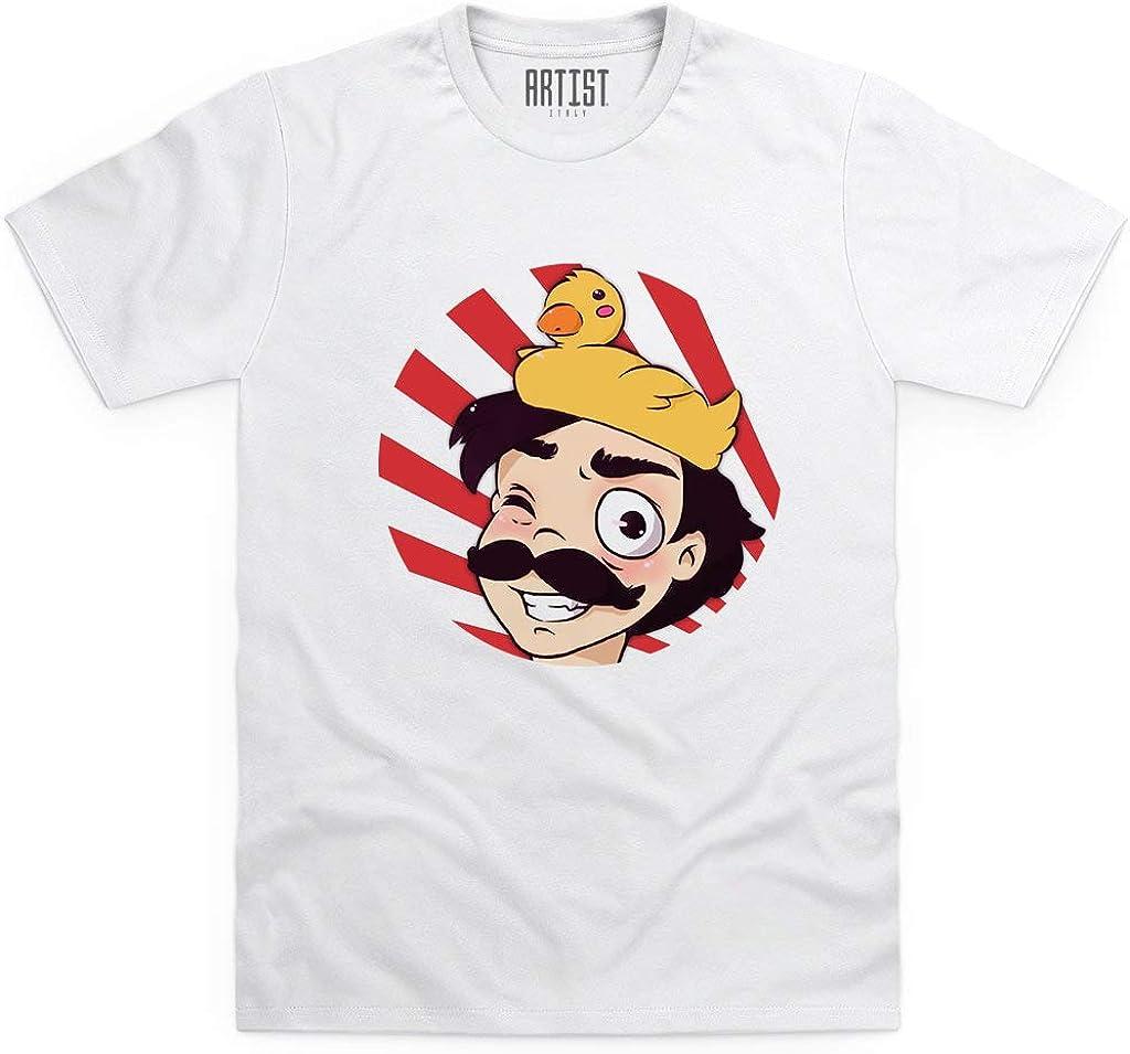 Spjockey Youtuber Italia T-Shirt Maglia SP Jockey