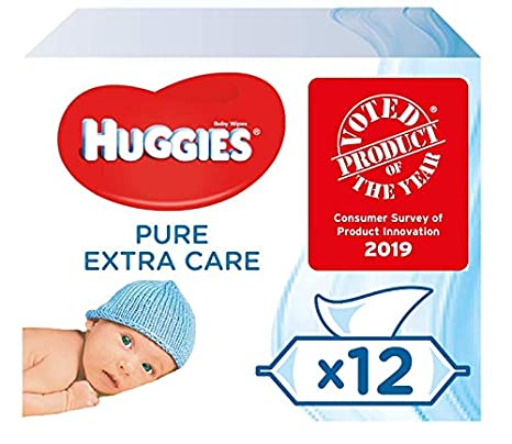 71719e99aed Huggies Pure Extra Care Baby Wipes