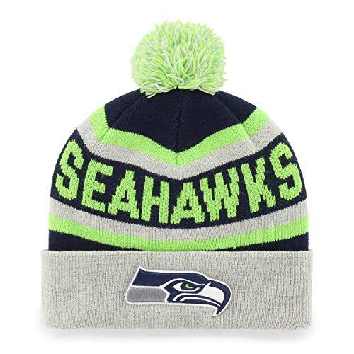 054690450a0 NFL Seattle Seahawks Jasper OTS Cuff Knit Cap with Pom