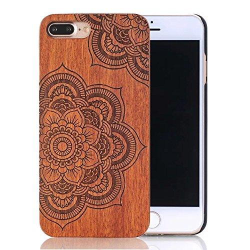 Wood Case for iPhone 7 Plus (Dark Brown) - 1