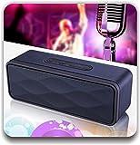 Bauhn Bluetooth Speaker Best Deals - Timlon Wireless Bluetooth 4.0 Speaker with Stereo Sound - Black