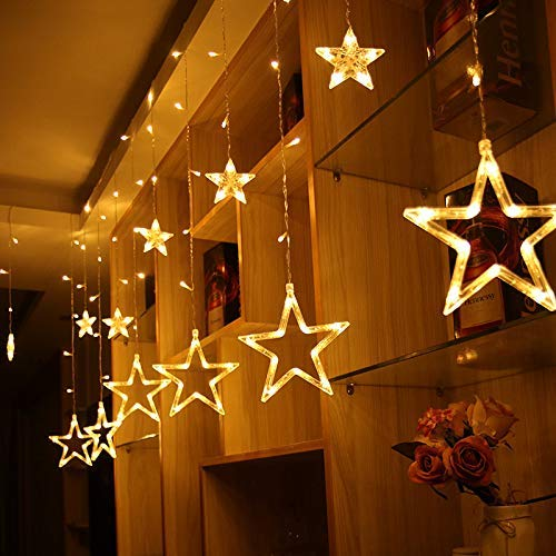Buy Heybey Traders Diwali Special Star Warm White Light Decoration For Birthday Festival Festive Occasion Wedding Party For Home Patio Lawn Restaurants Online At Low Prices In India Amazon In