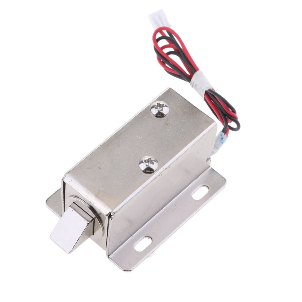 Homyl Universal Electric Lock 12V 0.83A Door Access Control Cabinet Gate Locker