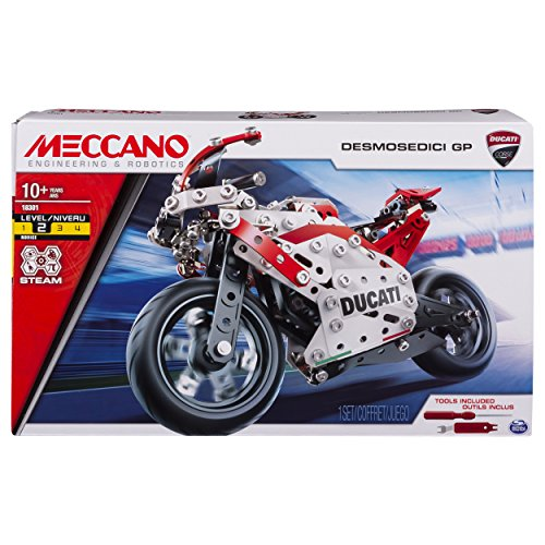 Meccano Ducati DESMOSEDICI Moto GP 17 Bike -