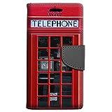 zte zmax british - ZTE Blade Z Max Wallet Case - Red British Phone Booth Case