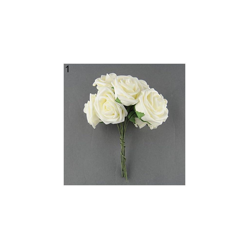 10-Pcs-Artificial-Fake-PE-Rose-Flower-DIY-Bridal-Wedding-Home-Party-Decoration-Ameesi