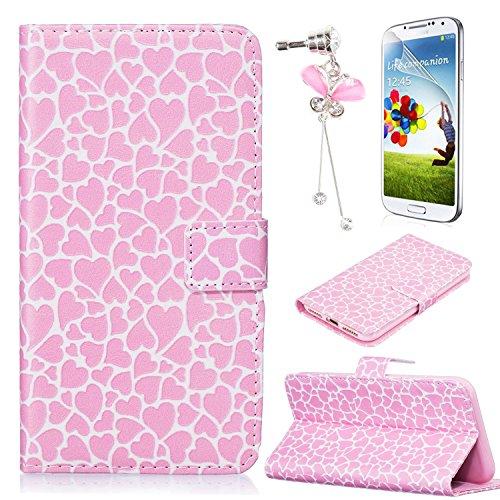Sunroyal®Caso Cáscara para Samsung Galaxy S6 Edge SM-G925F G9250 Funda Case Cover PU del Tirón de Cubierta del Teléfono Móvil en el Estilo de Libro de Cuero de la Caja del Teléfono con Bolsillos para  C-05