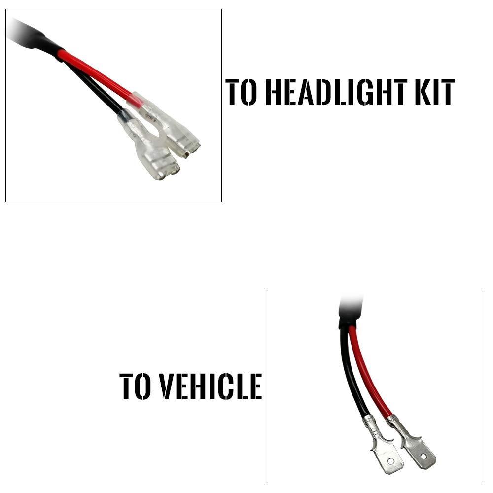 Koomtoom LED resistore 9005/HB3/9006/HB4/9012/HIR2/Canbus decoder H13/9008/H4/9003/HB2/H1/H7/H8/H9/H11/9004/9007/anti sfarfallio lampadina faro cablaggio resistore av