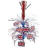 Beistle 57370 British Flag Cascade Centerpiece, 18-Inch