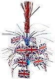 united kingdom decorations - British Flag Cascade Centerpiece Party Accessory (1 count) (1/Pkg)