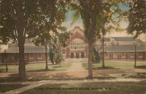 Alumni Gymnasium, Dartmouth College Hanover, New Hampshire Original Vintage - Store Dartmouth
