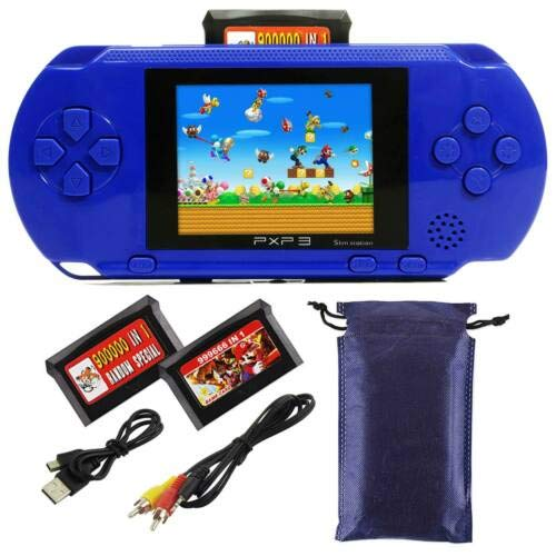Ocamo Retro Game Console, AV Output PXP3 Portable Handheld Console Built-in Video Game Gaming Console Player Black by Ocamo (Image #6)