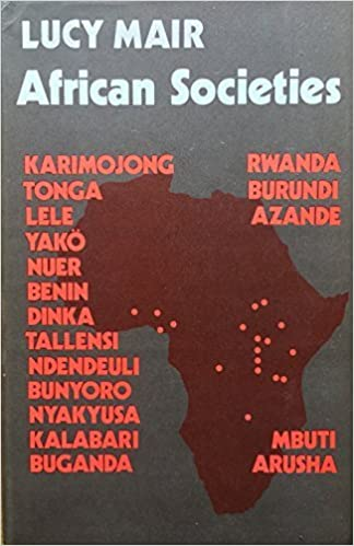 Book African Societies by Lucy Mair (1974-09-12)