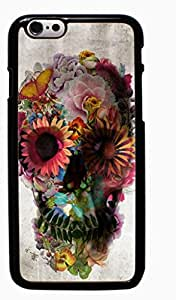 Skull Tattoo Partterned Hard Case for Apple iPhone 6 6G 4.7 ( Sugar Skull )