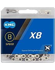 KMC Kettingen X8 zilver
