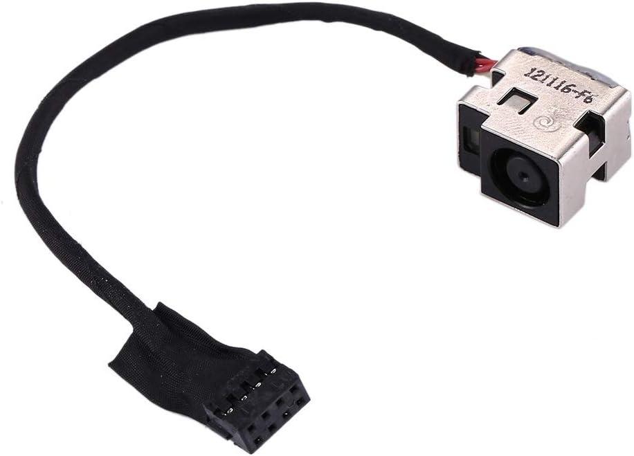 DESHENG Spare Parts DC Power Jack Connector Flex Cable for HP Pavilion g6-2000 / g7-2000 / dm4-3000