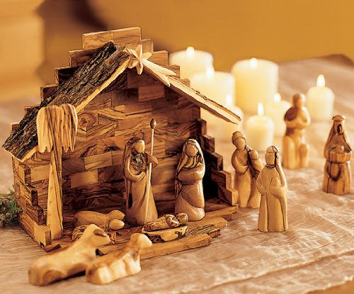 Holy Land Nativity Set - Contemporary Art by Holy Land Market