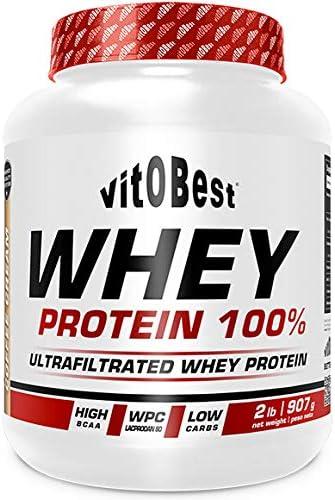 WHEY PROTEIN 100% 4 lb CHOCOLATE - Suplementos Alimentación y Suplementos Deportivos - Vitobest